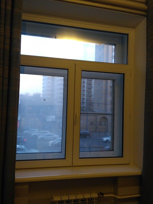 Окно второй линией